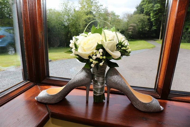 Bridal Posies  by Flowers by Hughes Florist Shop, Monaghan Town, Ireland