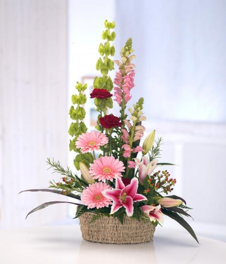 Get Well Wishes & Sentiments expressed with flowers delivered by Flowers by Hughes Florist Shop, Monaghan Town, Ireland