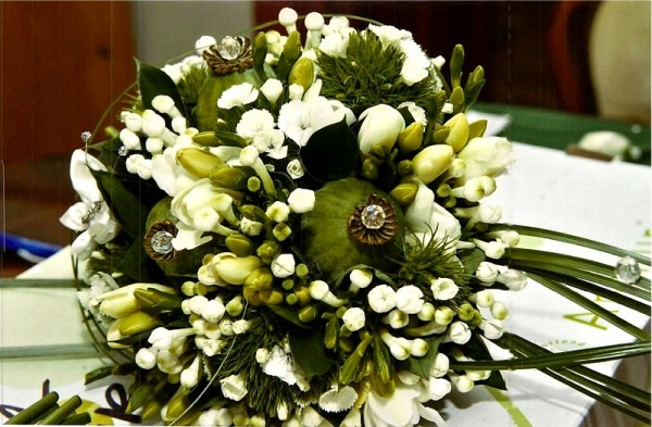 Bridal Bouquets created especially  for you by Flowers by Hughes Florist Shop, Monaghan Town, Ireland