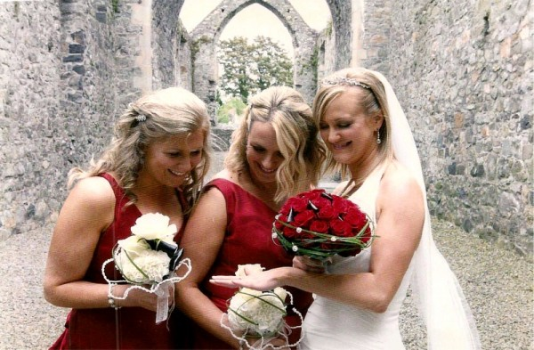 Posies for brides and bridesmaids by Flowers by Hughes Florist Shop, Monaghan Town, Ireland