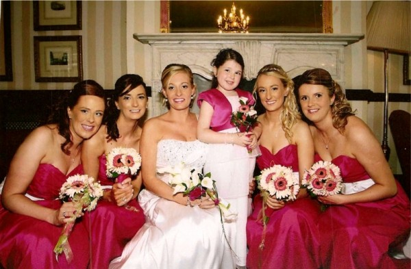Brides & Bridesmaids Posies created specially for your bridal party by Flowers by Hughes Florist Shop, Monaghan Town, Ireland