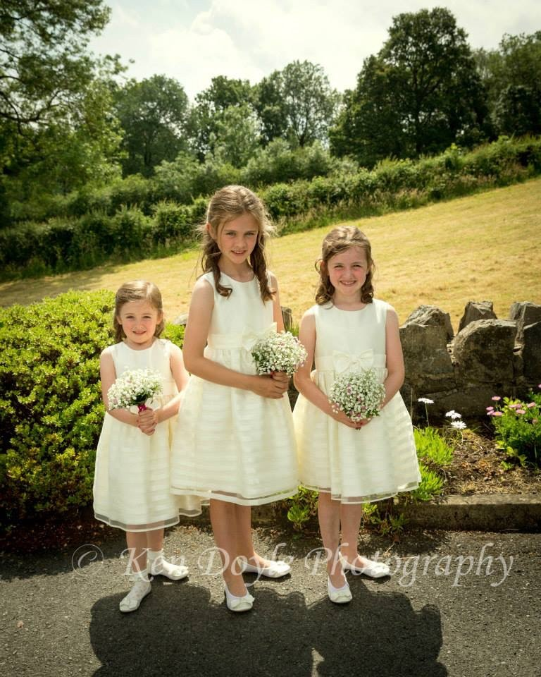 Bridesmaids Posies created specially for you by Flowers by Hughes Florist Shop, Monaghan Town, Ireland